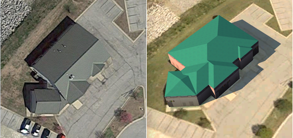 Creating Georeferenced Building Footprint Data in Civil 3D to Make